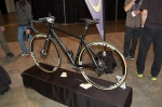 The Scud All-road bike with Campy Record EPS, Disc brakes, full internal cable routing, and tapered fork.
